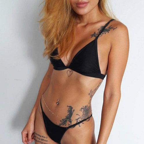 Brazilian Love Bikini Set-Black