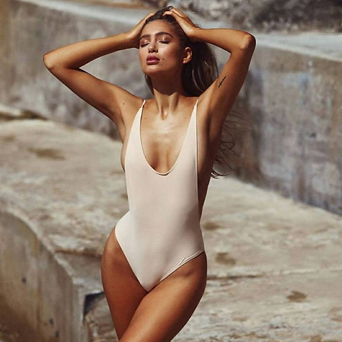 Cut it out Baby Swimsuit-Nude
