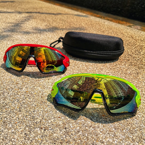 Hot Cycling Glasses (With box)