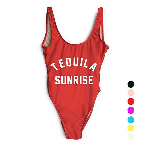 Tequila Sunrise Bodysuit