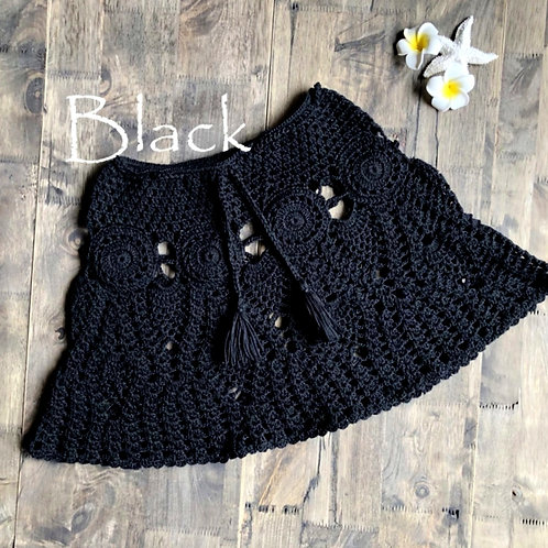 RV Crochet Skirt #1 - Black