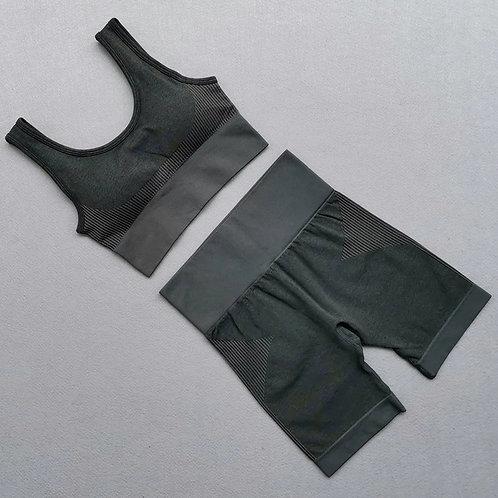 RV Demi Shorts  Set - Dark grey