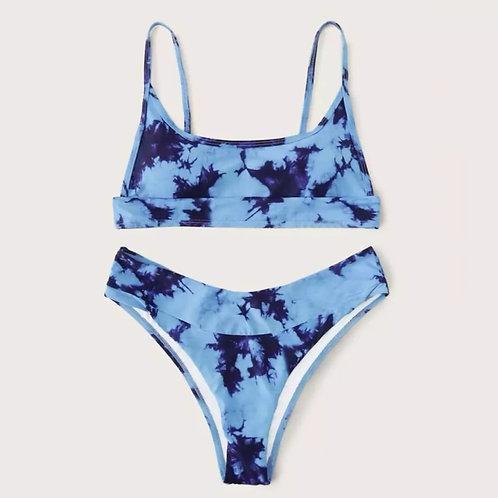 Celia Bikini Set #Ibiza - Blue