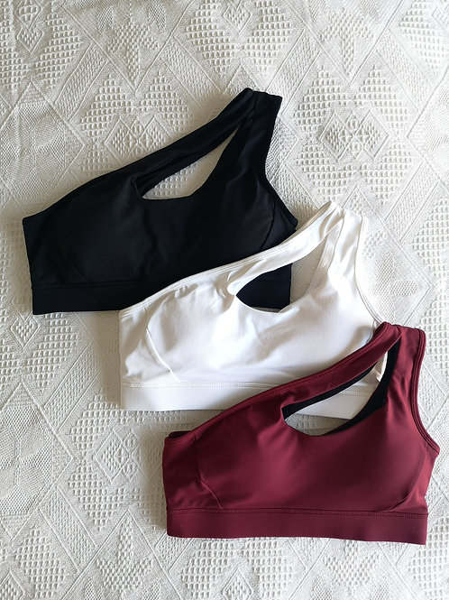 RV One Shoulder Sportbra *3 colours