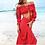 Thumbnail: Keira Off-Shoulder Maxi Skirt Set