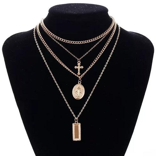 Roman Love Necklace Set