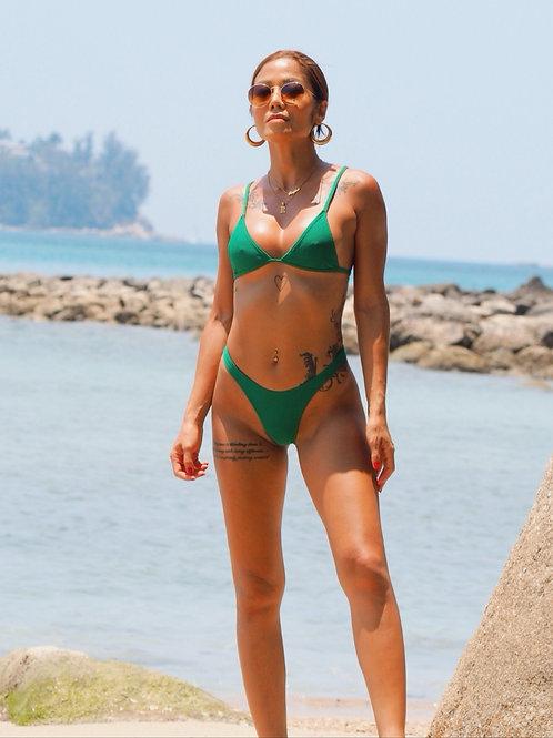 Feisty Xena High Cut Bikini Set