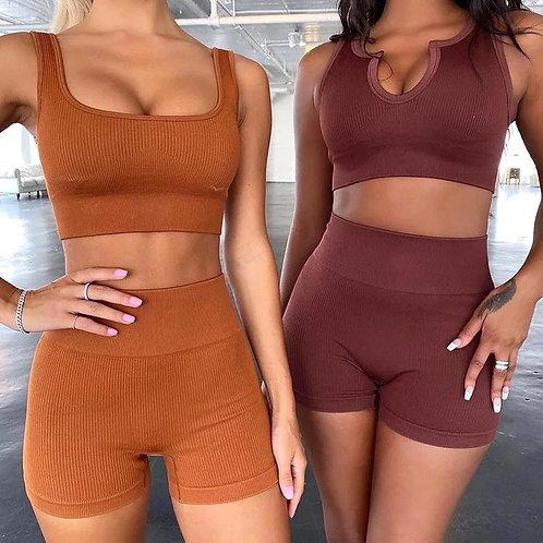 RV New You Set - Round neck (Bra + Shorts)