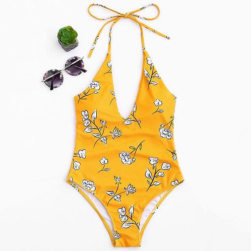 Hawana V-Neck Swimsuit