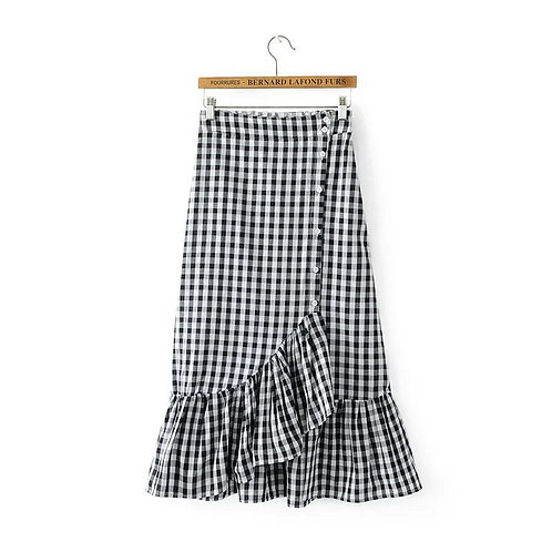 Check Me Up Ruffle Skirt
