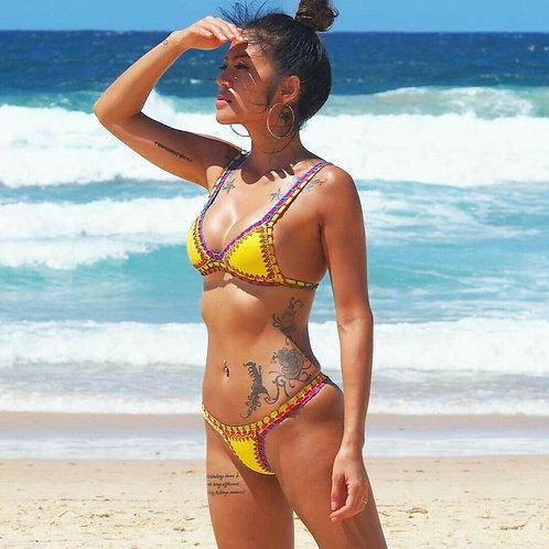* RE-STOCK Bondi Crochet Bikini Set