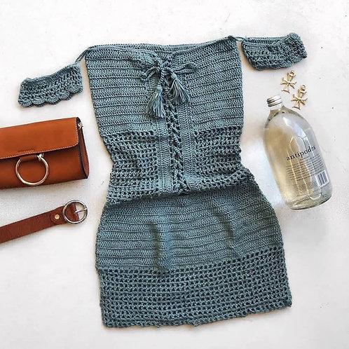 Moana Crochet Dress - Pre order