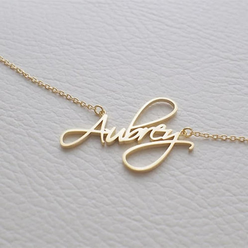 RV Personalized Necklace #2