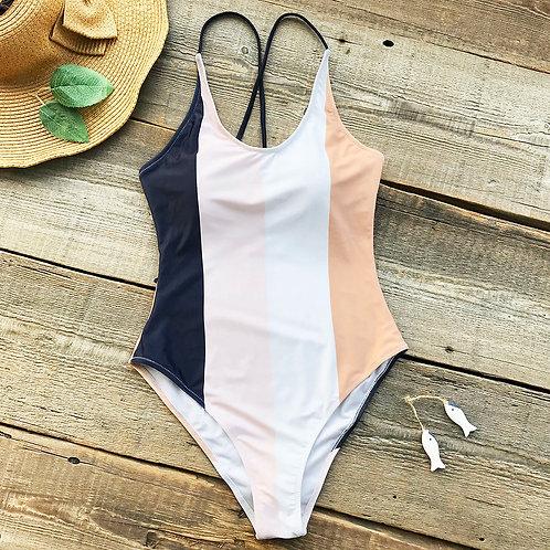 Tasha Stripes Swimsuit