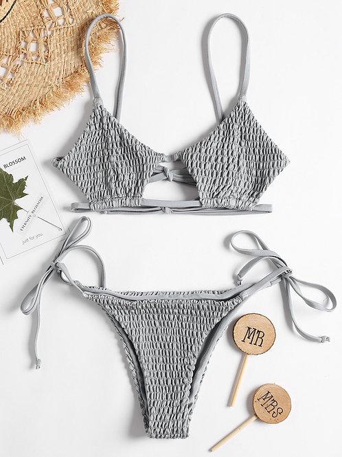 Denise Smock Bikini Set