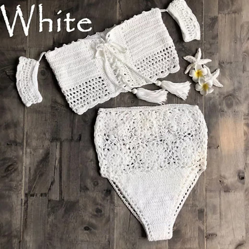 Cala Crochet Set - White