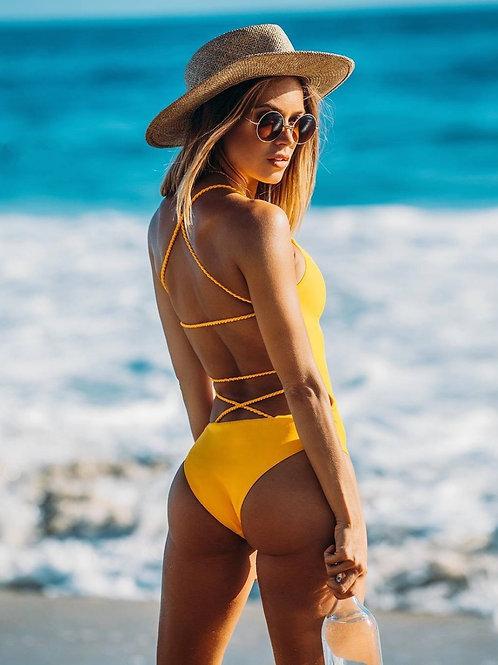 Zara Backless Swimsuit
