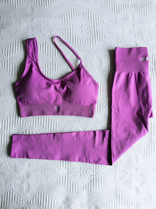 RV Girl Who Lifts Set #Heidi - Purple Pink