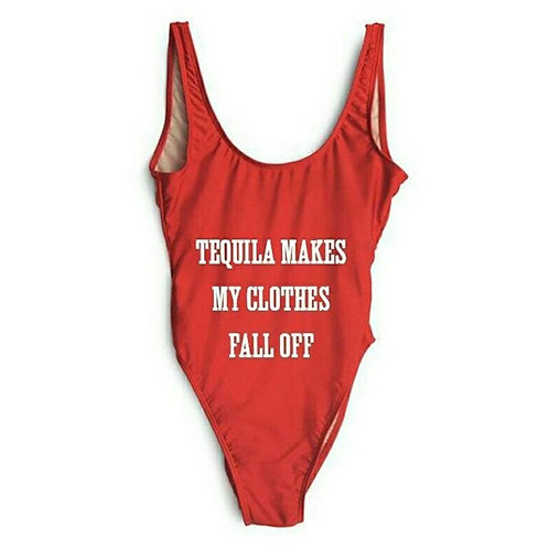 Tequila Makes My Clothes Fall Off Bodysuit