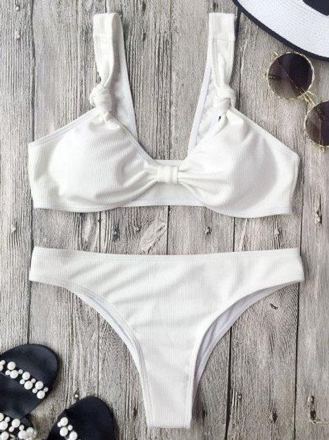 Feisty Alexxa High Cut Bikini Set
