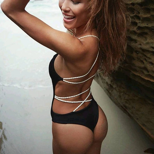 Keira Backless Swimsuit