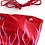 Thumbnail: Girl On Fire Bikini - Red