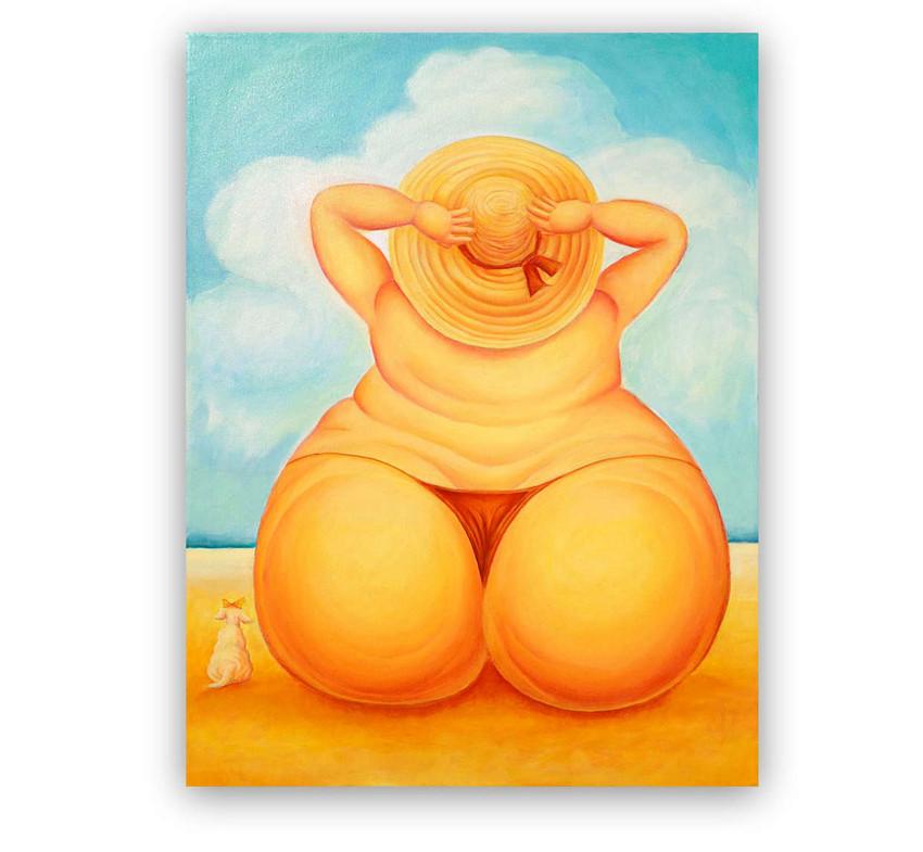 Summer: Oil on canvas 70 x 90 cm