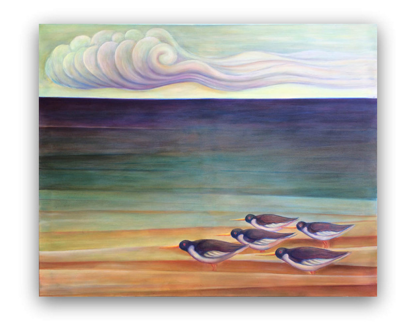Autumn: Oil on canvas 80 x 100 cm
