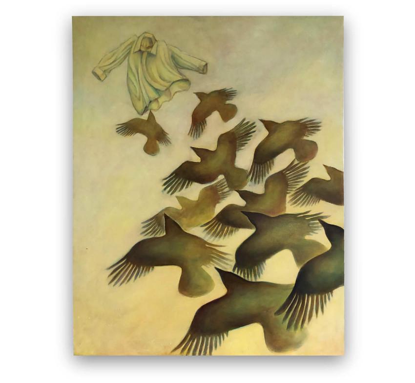 Freedom: Oil on canvas 80 x 100 cm