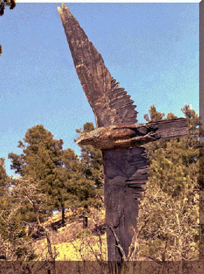 Bronze Falcon at Air Force Academy.