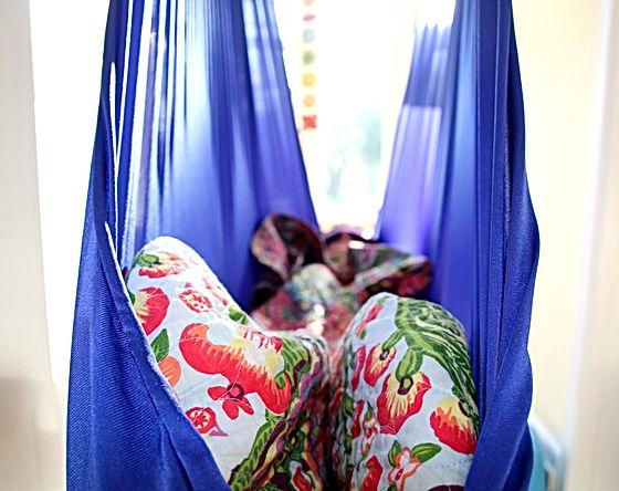 Yoga Nidra in a Hammock Cocoon