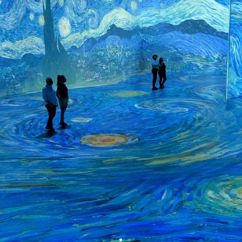 Beyond Van Gogh at the Ice Palace Studios in Miami