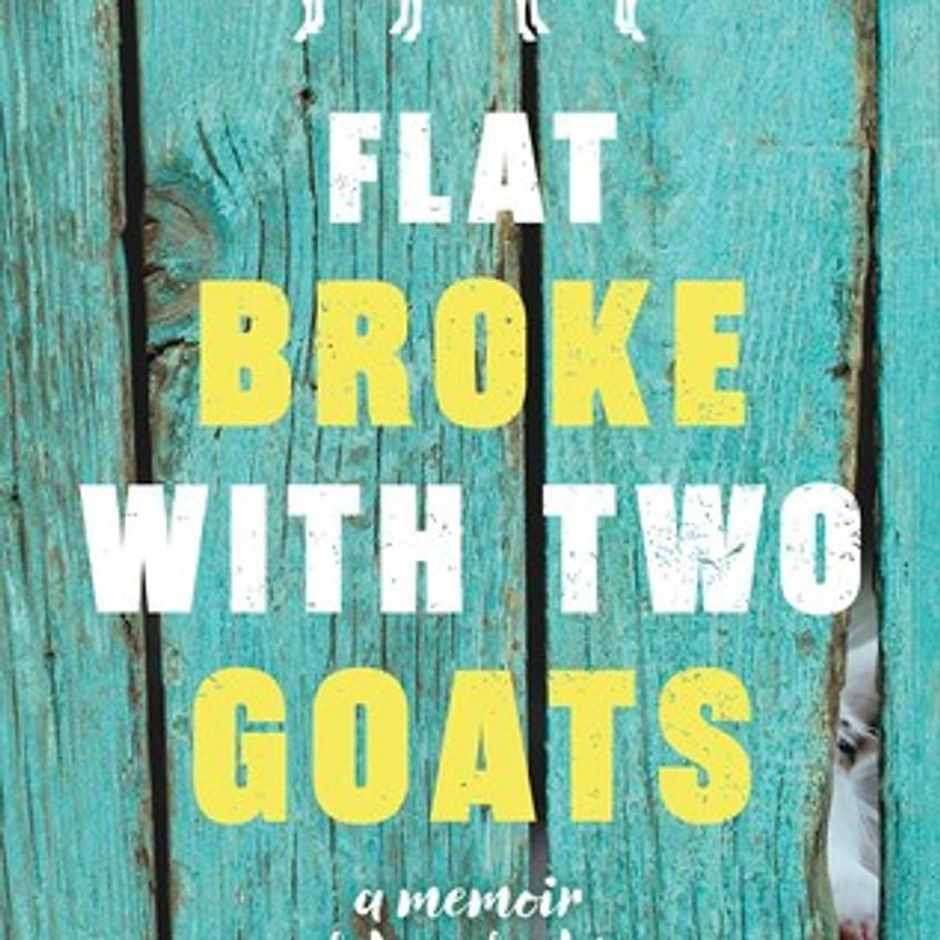 Impact November Virtual Book Club- Flat Broke With Two Goats,By Jennifer McGaha