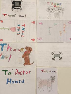 Primary school kids' letters