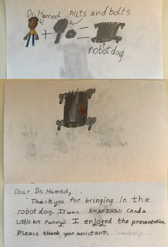 Primary school kids' letters