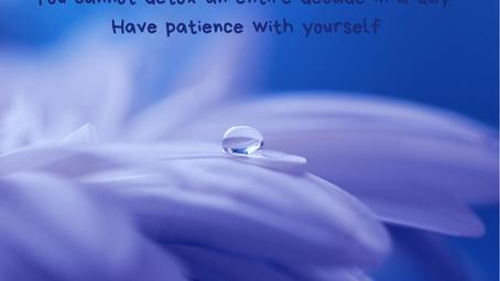 Heb geduld met jezelf!