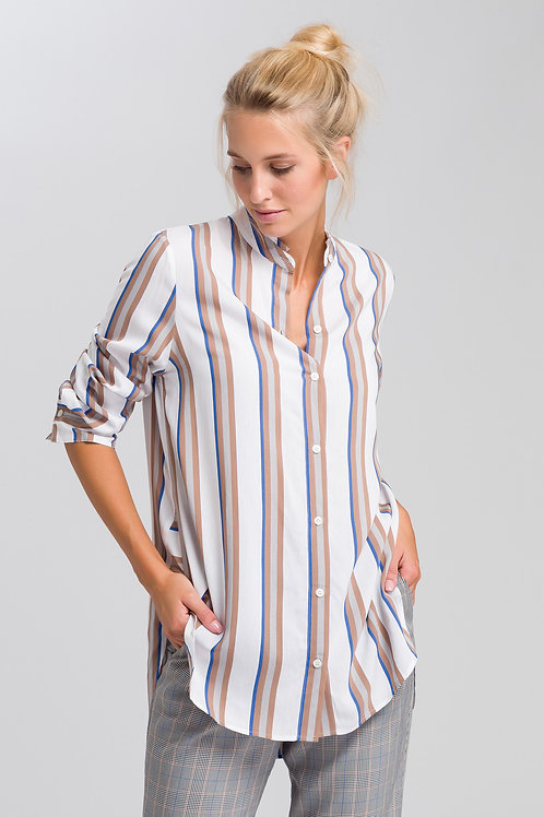 MARC AUREL BLOUSE IN A STRIPED LOOK