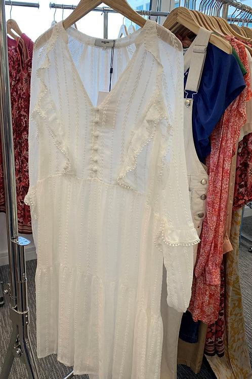 SUNCOO CHRISTY ROBE DRESS