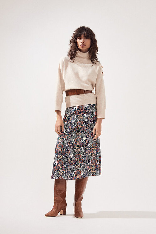 SUNCOO PRIVAT BUTTONED FANCY THIN JUMPER