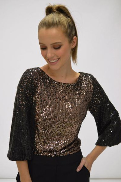 FEE G SEQUINED TOP