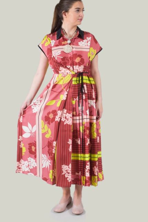 BEATRICE B ITALIA WRAP DRESS IN PINK