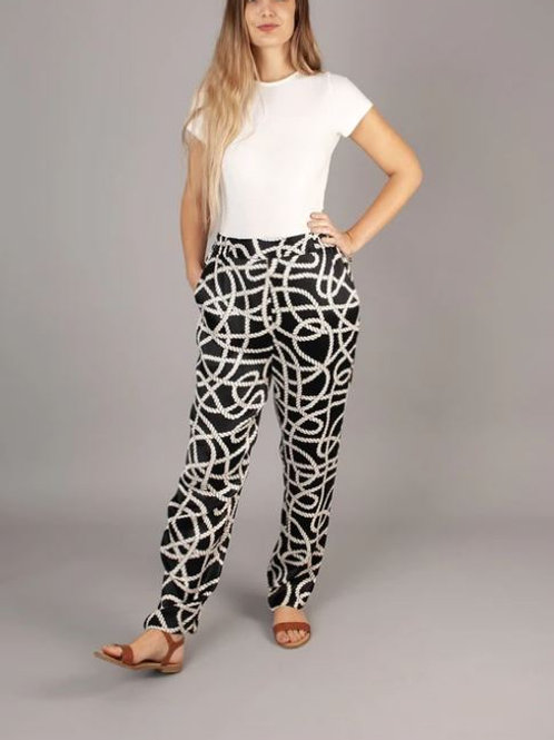 NOOKI REEF TROUSERS CHAIN PRINT