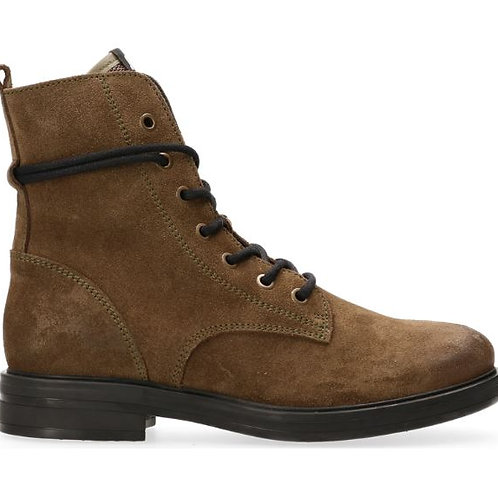 MARUTI ANABELA BOOTS GREEN SUEDE