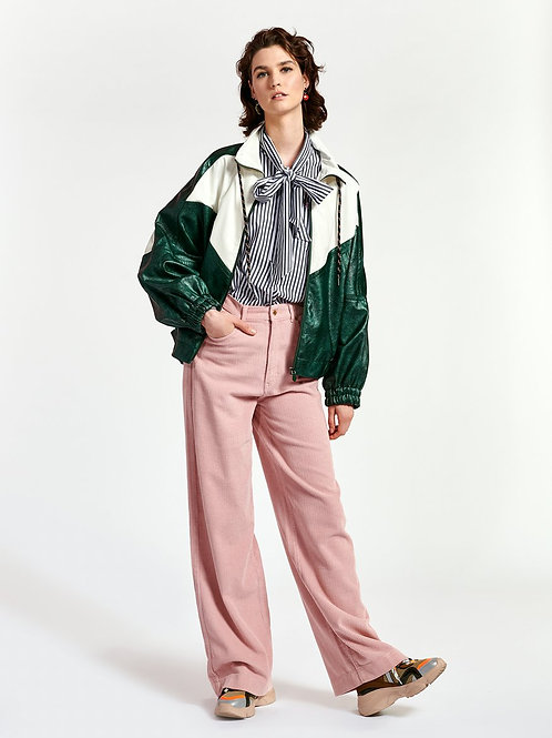 ESSENTIEL ANTWERP ORCHID HUSH WHIPPED WIDE PANTS