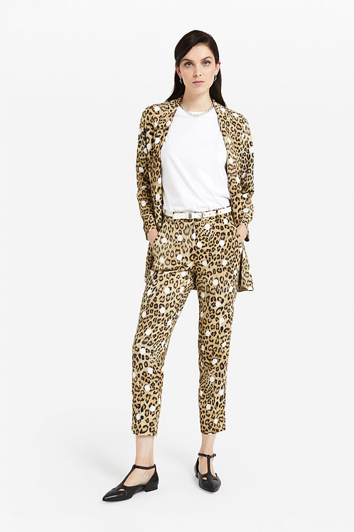 OTTO'DAME TROUSERS WITH  PRINT