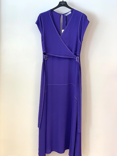 BEATRICE B ITALIA MAWRAP OVER DRESS SMALL BUCKLES