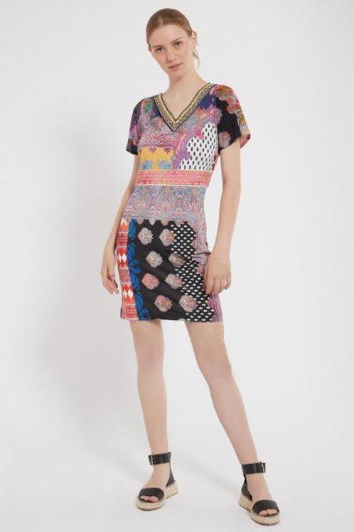 ANA ALCAZAR ZIOLY SHORT SLEVE DRESS