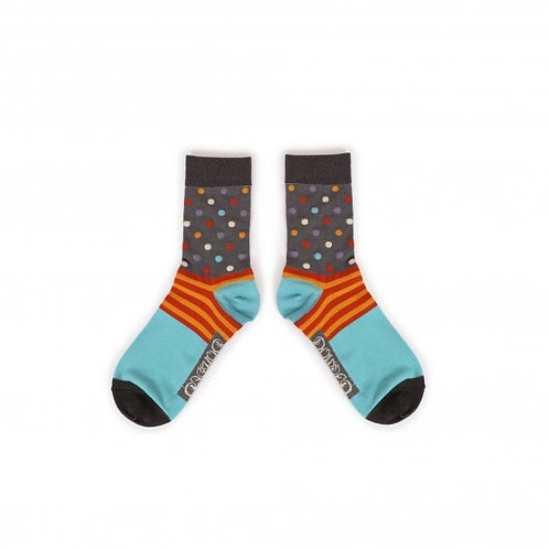 POWDER MENS SPOTS ANKLE SOCKS
