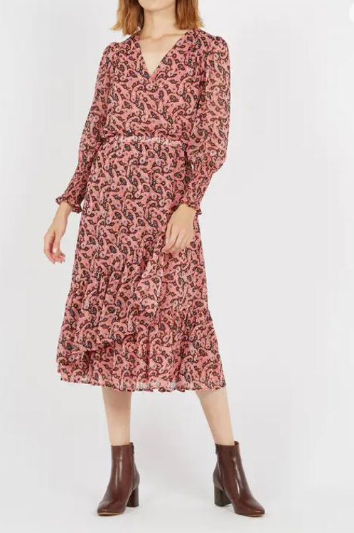 SUNCOO ROBE CHALVA DRESS