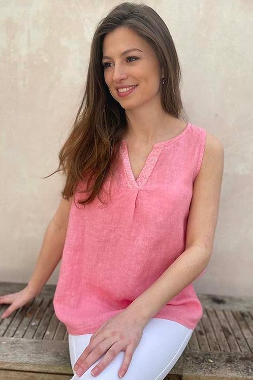 LUELLA WENDY TOP ROSE PINK